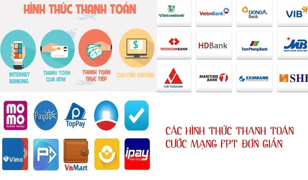 thanh toán cước internet fpt online