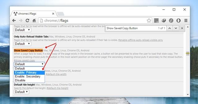 google chrome - lướt web khi mất mạng