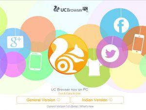 Trình duyệt UC Browser cho PC