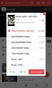 Phần mềm VidMate - HD video downloader
