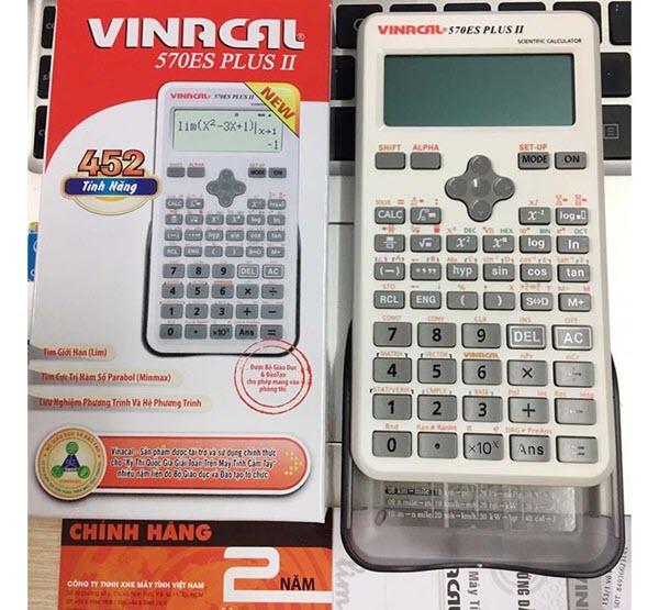 Chiếc máy tính vinacal ưu việt dành cho học sinh sinh viên