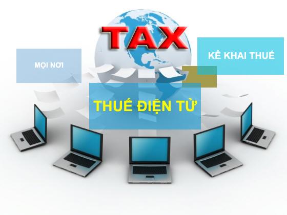 Kê khai thuế online
